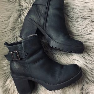 Aldo - Leather ankle boots
